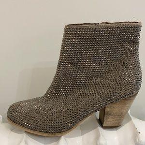 Diamond Studded Booties